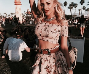coachella, festival, and outfit image