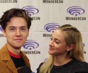Betty, riverdale, and jughead image