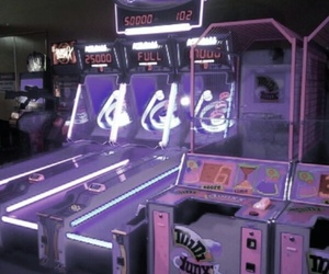 arcade and purple image