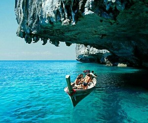 beautiful, places, and santorini image