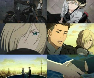 anime, anime ships, and yuri on ice image