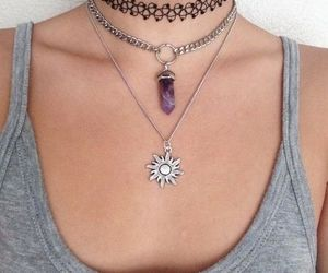 necklace and choker image