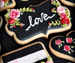 Cookies, sweet, and cookie decorating image