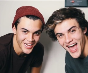 ethan dolan, grayson dolan, and dolan twins image