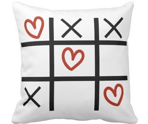 black and white, decor, and tic tac toe image