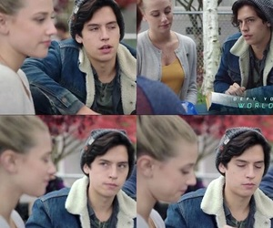 Betty, cole sprouse, and riverdale image