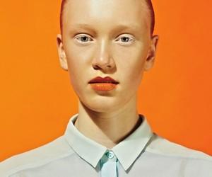 editorial, orange, and mode magazine image