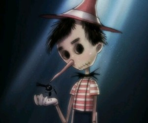 disney, pinocchio, and tim burton image