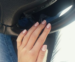 nails, be autiful, and pink image
