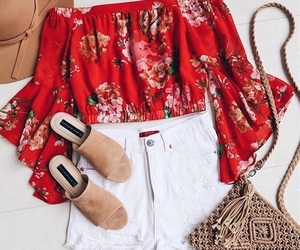clothes, colorful, and spring image