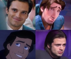 disney land and sebastian stan image