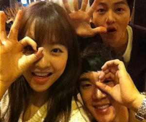 song joong ki and park bo young image