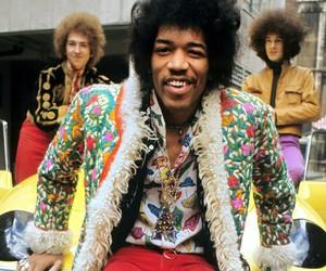 Jimi Hendrix and rock image