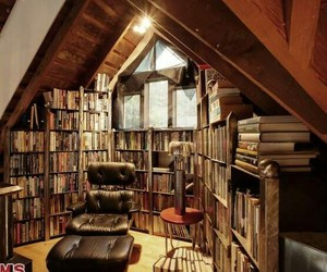 biblioteca, books, and library image