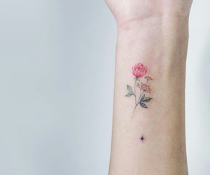 tattoo, flowers, and beautiful image