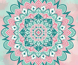 mandala, colorful, and wallpaper image