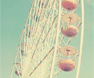 vintage, wallpaper, and ferris wheel image