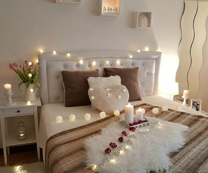 bedroom, white, and house image