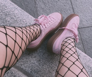 black, pink, and 2017 image