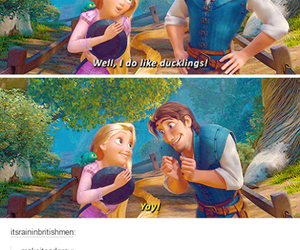 funny, tumblr, and tangled image