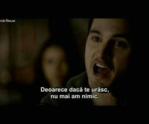 the vampire diaries, statusuri, and citate romana image