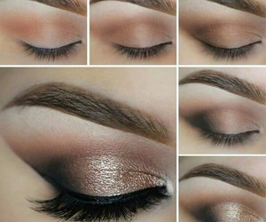 makeup, maquillaje, and sombras image