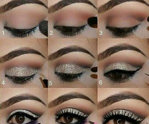 beauty, make up, and maquillaje image