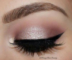 eye, make up, and maquillaje image
