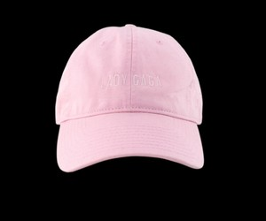 cap, cap pink, and lady gaga cap image