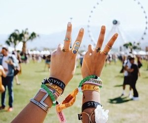coachella, girl, and best friends image