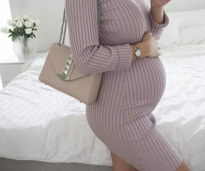baby, bag, and pregnancy image