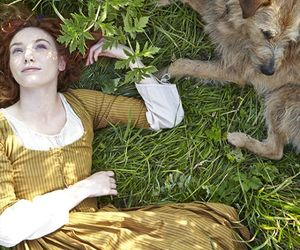 eleanor tomlinson, demelza, and poldark image