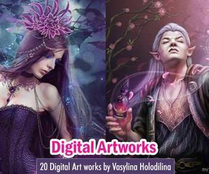 art, digital art, and russian artist image