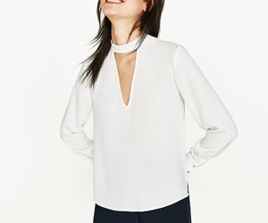 blouse, fashionista, and tops image