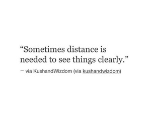 distance, thoughts, and feelings image