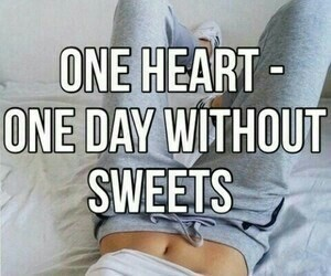 fitness, sweet, and motivation image