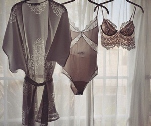 lingerie, girly, and style image