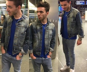 casual, outfit, and nathan sykes image
