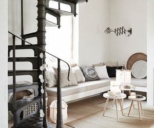 decor, minimal, and white image