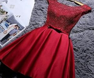 dress, girl, and woman image