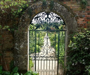 garden, fairytale, and fantasy image