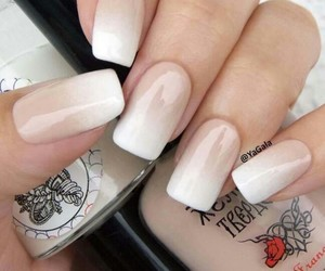 manicure, nails, and woman image