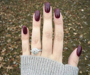 engagement, grunge, and ring image