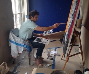 james franco, art, and painting image