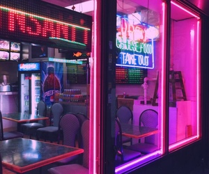 lights, neon, and aesthetic image