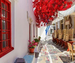 beautiful, mykonos, and summer image