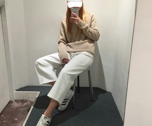 casual, clothes, and korean girl image