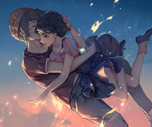 anime, couple, and zankyou no terror image