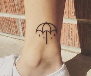 tattoo, bmth, and umbrella image