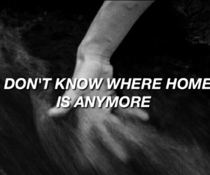 grunge, home, and sad image
